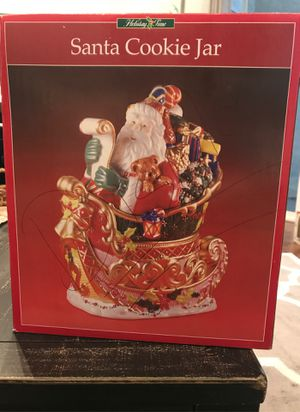 Santa cookie jar for Christmas for Sale in Laguna Hills, CA