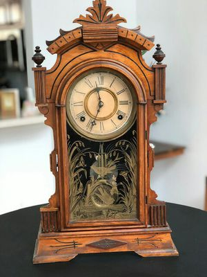 """Antique (pre-1925) Gingerbread Mantel """"Abana"""" Clock for Sale in Baltimore, MD"""
