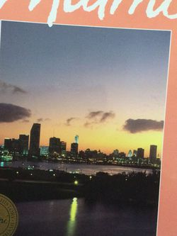 Miami Coffee Table Book, The Magic City - Over 250 Pages! for Sale in Cape Coral,  FL