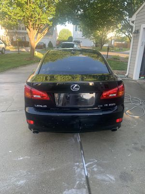 2008 Lexus is250 AWD 133k miles.... Great deal and bro for long for Sale in Charlotte, NC