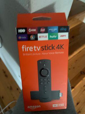 Fire Tv Stick 4K Unopened for Sale in Herndon, VA