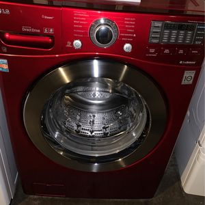 LG Washer Front Load Red for Sale in San Leandro, CA
