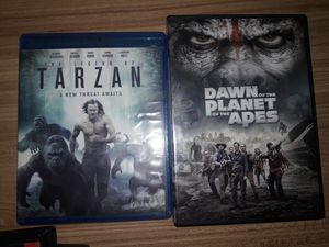 Tarzan and Dawn of the Planet of the Apes for Sale in Wichita, KS