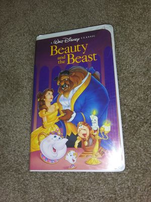Disney Beauty and the Beast VHS MINT Black Diamond for Sale in Hardeeville, SC