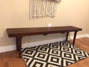 Modern Pine Slat Bench for Sale in Kennewick, WA