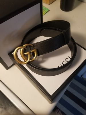 Gucci Black Womens Belt Size Large 105cm for Sale in Lewisburg, PA