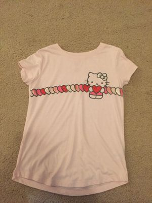 Hello kitty Valentine's Day shirt with hearts (girls,kids) for Sale in Gilbert, AZ