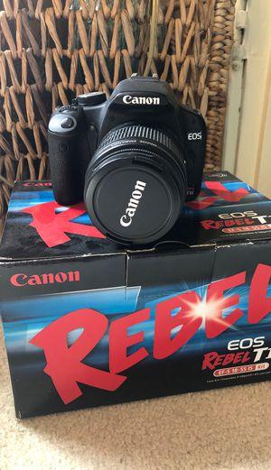 Canon EOS Rebel T1i DSLR for Sale in Seattle, WA