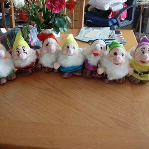 Plush 7 Dwarfs for Sale in Berkeley Township, NJ