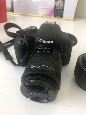 Canon EOS Rebel T6i DSLR Camera Deluxe Video Creator Kit with Canon EF for Sale in North Miami Beach, FL