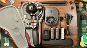 【Uesd】DJI Osmo + with 3 extra batteries and 16G MicroSD card for Sale in Chicago, IL