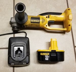 DeWalt 18v grinder, Battery, and charger for Sale in Virginia Beach, VA