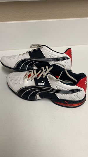Puma red white running trainer shoe size 11 men's for Sale in Las Vegas, NV