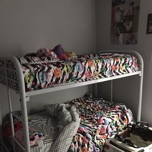 Two White Metal Bunk Beds for Sale in Atlanta, GA
