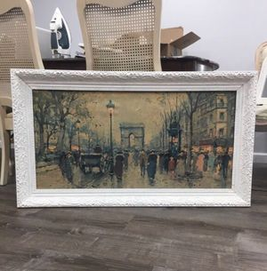 French print in beautiful antique frame for Sale in Oxon Hill, MD