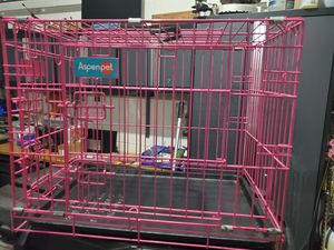 Pink Dog kennel cage for Sale in Apopka, FL
