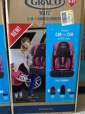 Brand New Graco Wayz 3-in-1 Harness Booster Car Seat ( 2 Quantity Available) for Sale in Airmont, NY