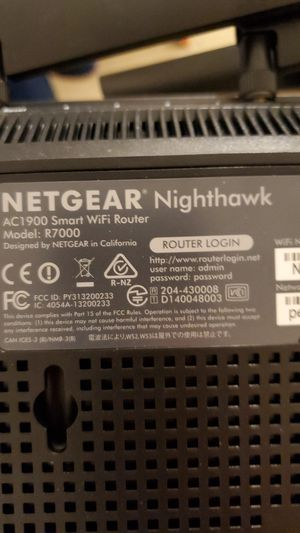 Netgear Nighthawk AC1900 Gaming Wifi Router for Sale in Aurora, CO