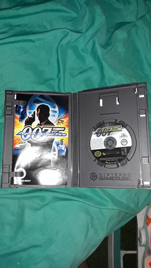 007 Agent under fire for game cube for Sale in Kingsport, TN