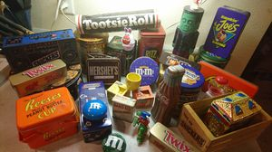 Collectible Candy and vintage tins for Sale in Holt, MO