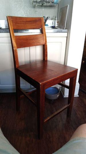Crate and Barrel bar/counter stool solid wood for Sale in Los Angeles, CA
