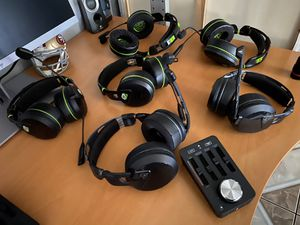Turtle beach elite pro gaming headset and T.A.C. for Sale in E RNCHO DMNGZ, CA