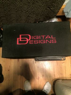 Digital Designs 2500 series subwoofer and box for Sale in Pasadena, MD
