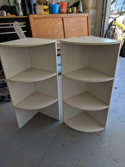 Stackable corner shelving for Sale in Tehachapi,  CA