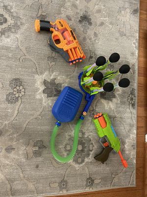 Zing air with 2x nerf gun for Sale in Springfield, VA