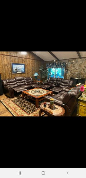 Genuine leather couches (3) for Sale in Melbourne, FL