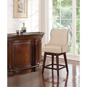 "TWO LEONA 24"" SWIVEL STOOL BAR CHAIRS for Sale in Downers Grove, IL"