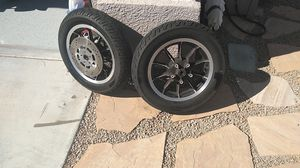 Harley-Davidson stock wheels and tires. for Sale in North Las Vegas, NV