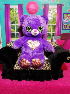 "16"" Build A Bear Purple Shopkins Teddy Plush Limited Edition BABW Stuffed Toy for Sale in Dale, TX"