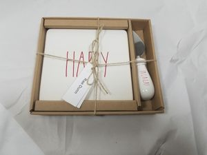 Happy Christmas Rae Dunn cheese plate for Sale in Pittsburgh, PA