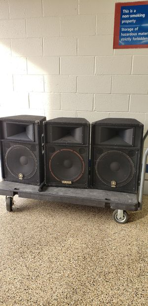 "Yamaha 15"" DJ Speaker for Sale in Washington, DC"