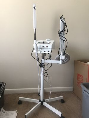 Ozone Steamer, 5 Diopter Magnifying Lamp & High Frequency Machine for Sale in Nashville, TN