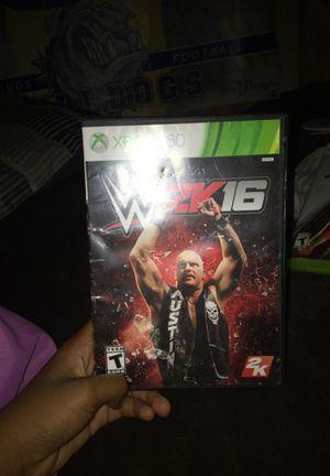 WWE 2K16 for Sale in Louin, MS