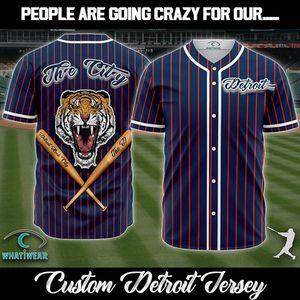 Detroit Baseball Jersey for Sale in Murfreesboro, TN