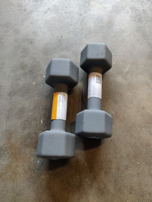 Two 10lb dumbbell set! 20lbs Total! for Sale in Fresno, CA