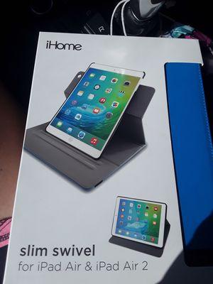 iHome ipad slim swivil and also iHome safe guard screen protector for Sale in Largo, FL