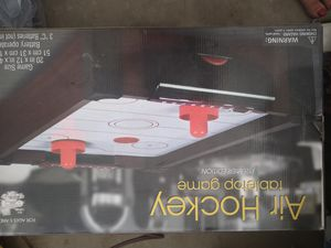 New Air Hockey table Top for Sale in Peoria, AZ