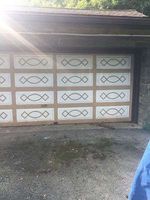 Authentic Wood Double Garage Door for Sale in Wynnewood, PA
