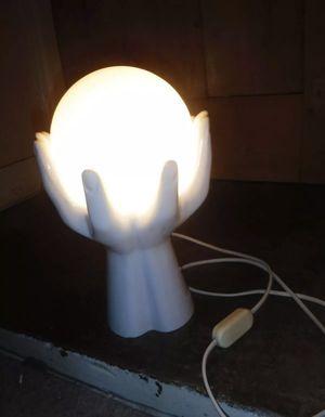 Vintage Art Deco ceramic hands hand lamp for Sale in Etiwanda, CA
