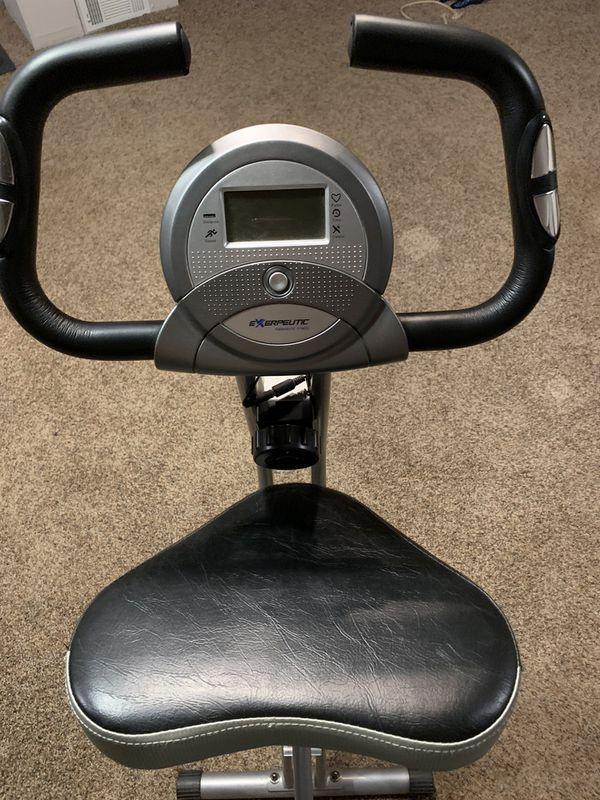 Stationary exercise bike