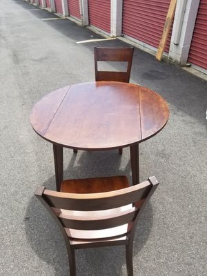 Cherrywood Dining Table with two Matching Chairs for Sale in Washington, DC