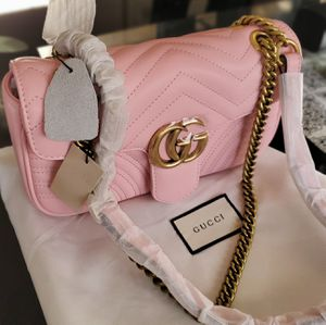 Gucci GG marmont 2matelasse leather shoulder bag for Sale in Annandale, VA