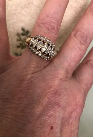 Very beautiful diamond ring Great valentines gift for Sale in Antioch, CA