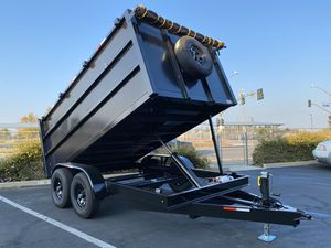 Dump Trailer 8x12x4 for Sale in Riverside, CA