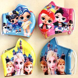 Bundle 4 masks 2 LOL and 2 Elsa Frozen masks for Sale in Las Vegas, NV