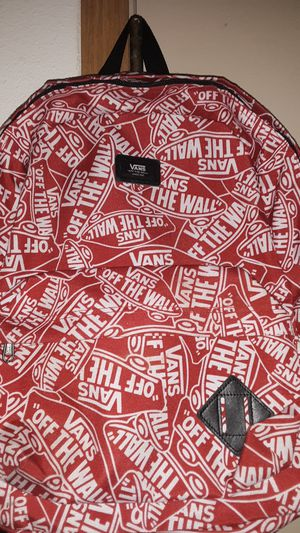 Off the wall Van's bookbag red for Sale in Columbus, OH